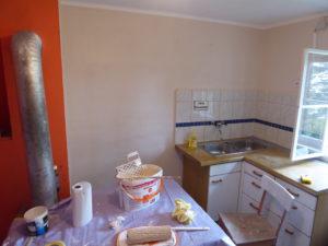 Küche - neu in Pastell-Gatsch
