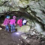 Einstieg in die Grotte du Déroc